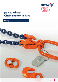 Pewag Chain Slings. Premium Grade 10 Chain Lifting Slings Catalogue