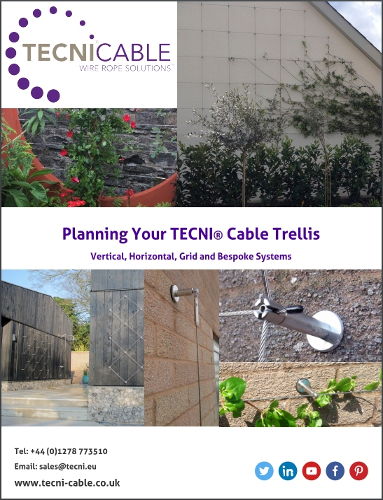 Planning your TECNI® Cable Trellis