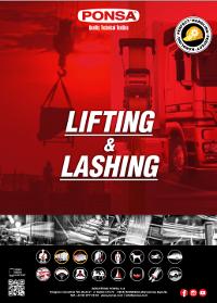 Ponsa Lifting and Lashing Catalogue