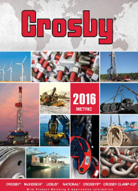 Crosby Catalogue 2016