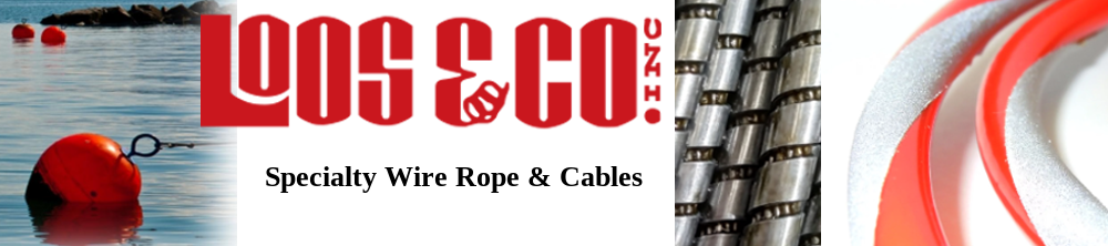 Loos & Co Specialty Wire Rope & Cables Banner